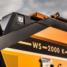 Kettenmobiler Windsichter WS 2000 K