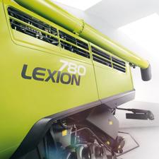 Mähdrescher Lexion 780